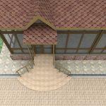 Проект центрального входа